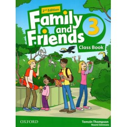 Family & Friends 2nd Edition Level 3 Class Book