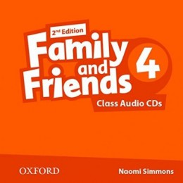Family & Friends 2nd Edition Level 4 Class Audio CDs