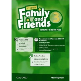 Family & Friends 2nd Edition Level 3 Teacher's Book Plus Pack