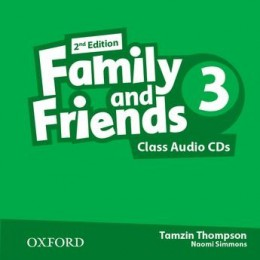 Family & Friends 2nd Edition Level 3 Class Audio CDs