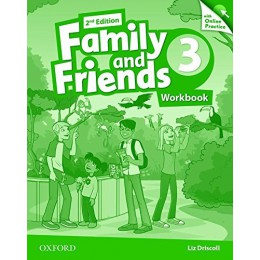 Family & Friends 2nd Edition Level 3 Workbook & Online Practice Pack