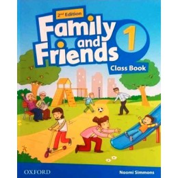 Family & Friends 2nd Edition Level 1 Class Book
