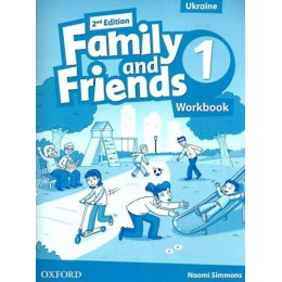 Family & Friends 2nd Edition Level 1 Workbook for Ukraine