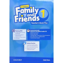 Family & Friends 2nd Edition Level 1 Teacher's Book Plus Pack