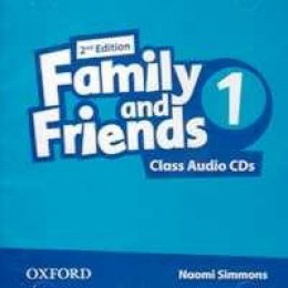 Family & Friends 2nd Edition Level 1 Class Audio CDs