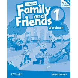 Family & Friends 2nd Edition Level 1 Workbook & Online Practice Pack
