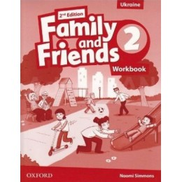 Family & Friends 2nd Edition Level 2 Workbook for Ukraine