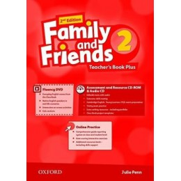 Family & Friends 2nd Edition Level 2 Teacher's Book Plus Pack
