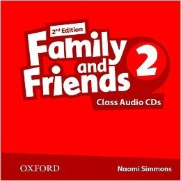 Family & Friends 2nd Edition Level 2 Class Audio CDs