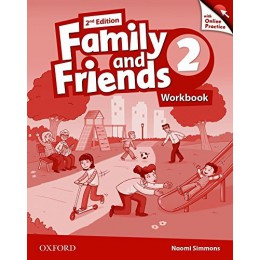 Family & Friends 2nd Edition Level 2 Workbook & Online Practice Pack