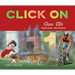 Click On 1 - Class Audio CDs (set of 4)
