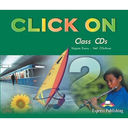 Click On 2 - Class Audio CDs (set of 3)