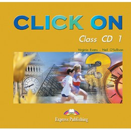 Click On 3 - Class Audio CDs (set of 5)