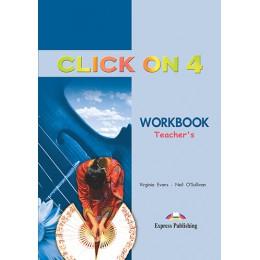 Click On 4 - Workbook (Teacher's - overprinted)