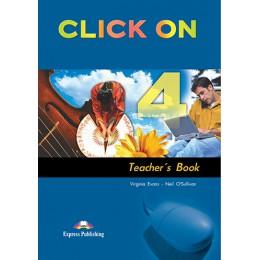 Click On 4 - Teacher's Book (interleaved)