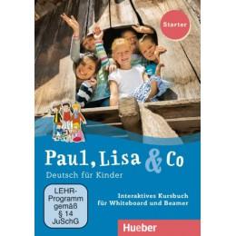 Paul, Lisa & Co Starter Interaktives Kursbuch DVD-ROM