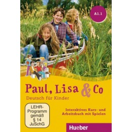 Paul, Lisa & Co A1.1 Interaktives Kursbuch DVD-ROM