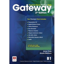 Gateway 2nd Edition Level B1 Teacher's Book Premium Pack
