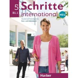 Schritte international Neu 5 Kursbuch+Arbeitsbuch+CD zum Arbeitsbuch