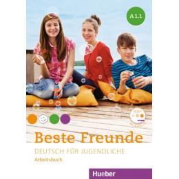 Beste Freunde A1/1 Arbeitsbuch mit Audio-CD