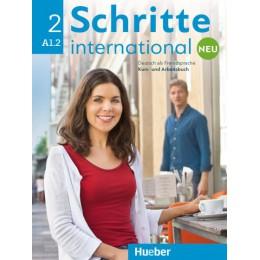 Schritte international Neu 2 Kursbuch + Arbeitsbuch + CD zum Arbeitsbuch