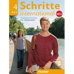 Schritte international Neu 4 Kursbuch+Arbeitsbuch+CD zum Arbeitsbuch