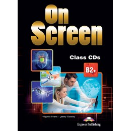 On Screen B2+ - Class Audio CDs (set of 4)